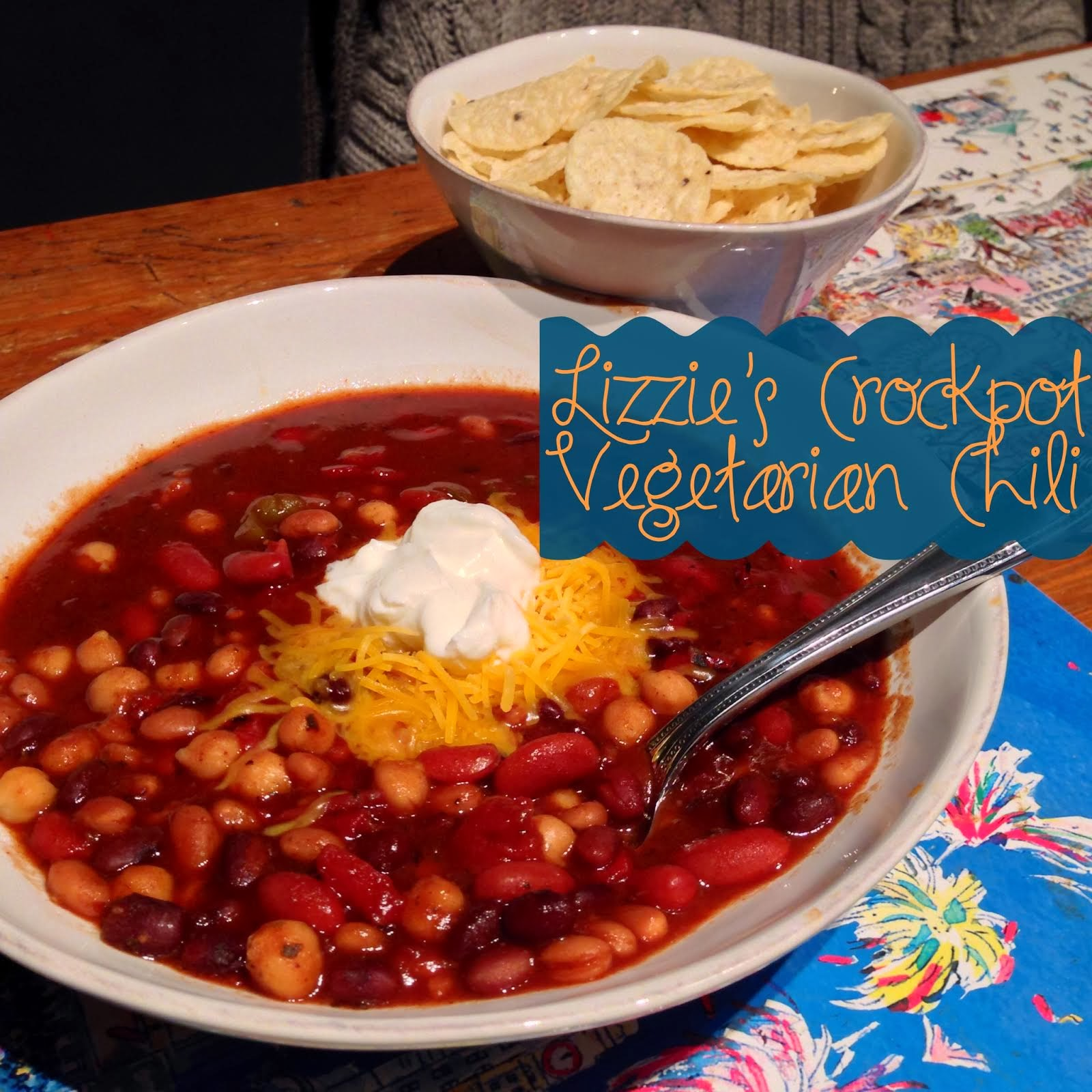 The Best Veggie Chili Ever (and the Secret Ingredient for ALL Chili!)