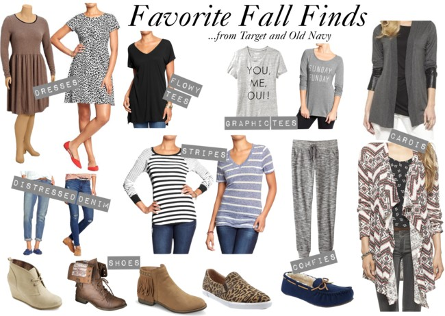 Favorite Fall Finds [from Target and Old Navy]