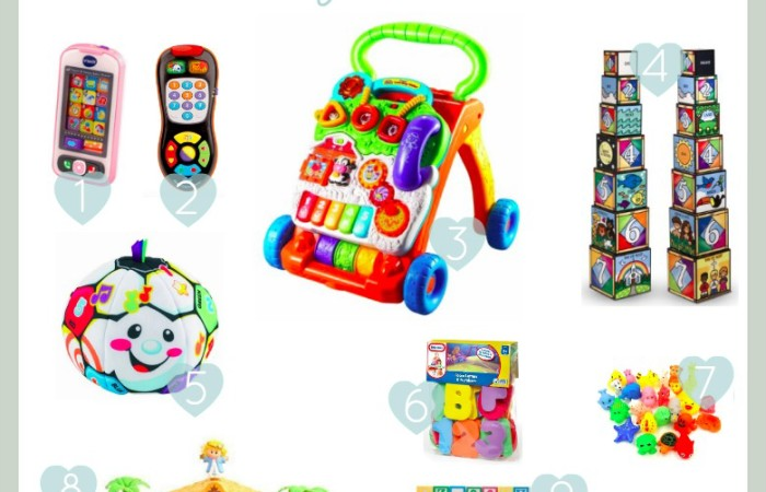 Under $20 Christmas Toys for Baby (and where to buy them on Black Friday)