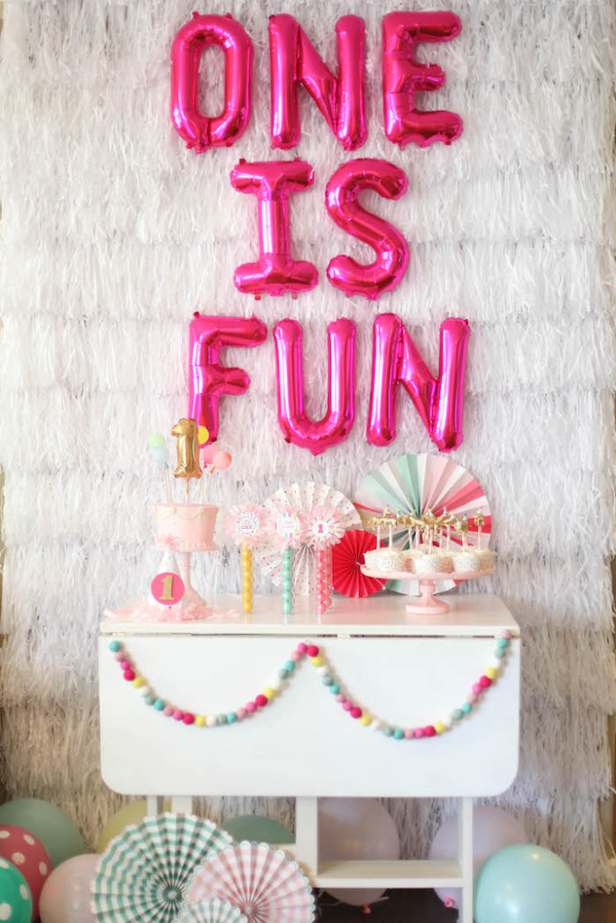 Sprinkles Glitter And Confetti 1st Birthday Party Inspiration