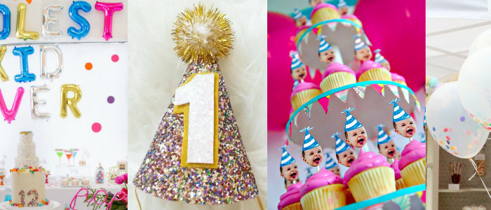 Sprinkles, Glitter, and Confetti | 1st Birthday Party Inspiration