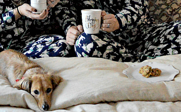 Weekend Wear | Snow Day Flannel PJs