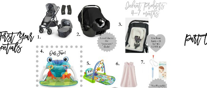 Evie's First Year Essentials: Infant 4-7 Months