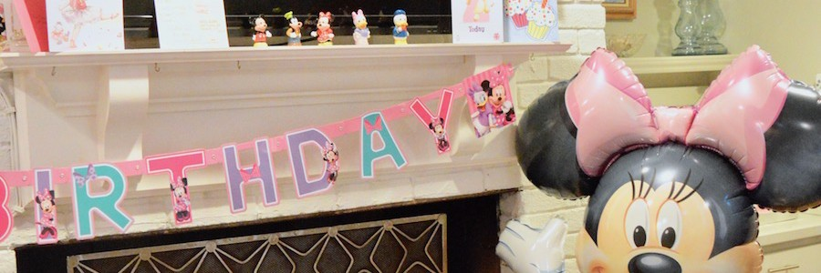 Nancy's 2nd Birthday | A Simple Minnie Mouse Party