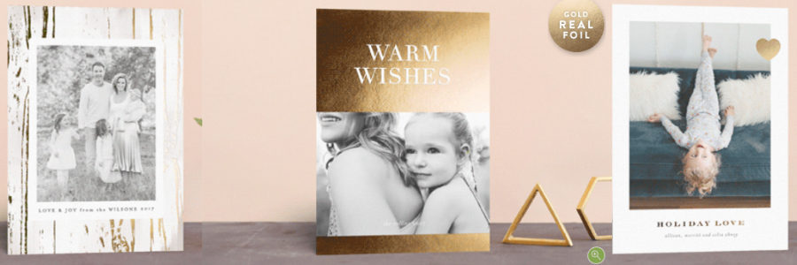 Christmas Card Favorites (+ Minted's Free Foil Event)